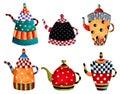 Tea time invitation Royalty Free Stock Image