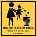 Teach your children good manners