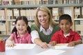 Učiteľ pomáhame študenti učiť sa zručnosti
