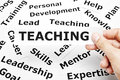 Teaching Concept Royalty Free Stock Photo