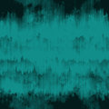 Teal blue grunge ink runs and strokes background Royalty Free Stock Photo