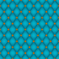 Teal Diamond Seamless Tile Stock Photo