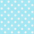Teal and White Large Polka Dots Pattern Repeat Background