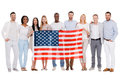 Team of America. Royalty Free Stock Photo