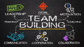 Team building concept Royalty Free Stock Photo