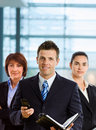 Team of businesspeople Stock Image