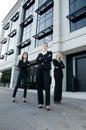 Team of businesswomen Royalty Free Stock Photo
