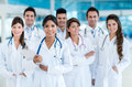 Team of doctors at the hospital Royalty Free Stock Photo