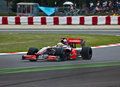 Team McLaren Royalty Free Stock Photo