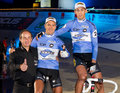 Team Mertens de Ketele at Sixday-Nights Zuerich Stock Photo