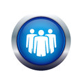 Team people icon Stock Photography
