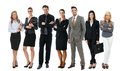 Team photo of young businesspeople Royalty Free Stock Photo
