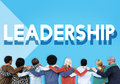 Team Support Lead Leadership Marketing Concept Royalty Free Stock Photo