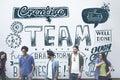 Team Teamwork Partnership Collaboration Concept