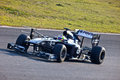 Team Williams F1, Pastor Maldonado, 2011 Image libre de droits