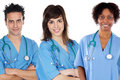 Team of young doctors Royalty Free Stock Photo