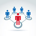 Teamwork and business team and friendship icon Royalty Free Stock Photo