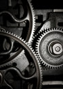 Teamwork - Cogs in a machine Royalty Free Stock Photo