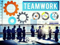 Teamwork Collaboration Business Team Interest Concept Royalty Free Stock Photo