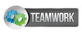 Teamwork concept banner Stock Images