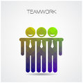 Teamwork concept ,partnership sign,businessman sign,people conce Royalty Free Stock Photo