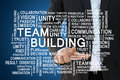 Teamwork and team building concept Royalty Free Stock Photo