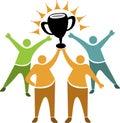 Teamwork winner logo
