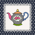 Teapot Foto de Stock Royalty Free