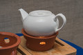 Teapot for Chinese kungfu tea Royalty Free Stock Photo