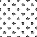 Teapot pattern, simple style