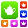 Teapot set collection