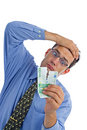 Teared banknote Royalty Free Stock Photo