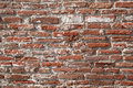 Teathered brick wall Stock Image