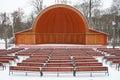 Teatro del Straw-hat Foto de archivo