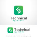 Technical Logo Template Design Vector, Emblem, Design Concept, Creative Symbol, Icon