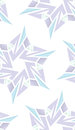 Techno snowflake shapes seamless background pattern Royalty Free Stock Images