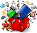 Technological Gifts Royalty Free Stock Photo