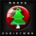 Technological Green Christmas Tree