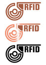 Technologie de RFID Photos stock