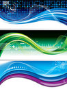 Technology Banners Stock Photography