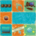 Technology Collage Royalty Free Stock Photo