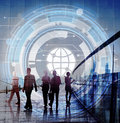 Technology Hud Global Web Media Concept