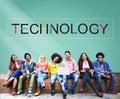 Technology Innovation Evolution Tech Innovative Concept Royalty Free Stock Photo
