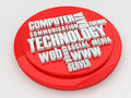 Technology issue tag cloud d high quality render Stock Photo