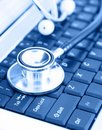 Technology and medicine Royalty Free Stock Photo