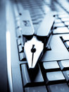 Technology service - computer keyboard Royalty Free Stock Images