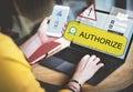 Technology Uploading Internet Online Media Concept Royalty Free Stock Photo