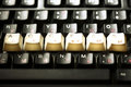 Tecla de acceso del teclado Foto de archivo libre de regalías