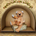 Teddy Bear Ballerina Royalty Free Stock Photography