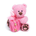 Teddy bear in classic vintage style Royalty Free Stock Photo